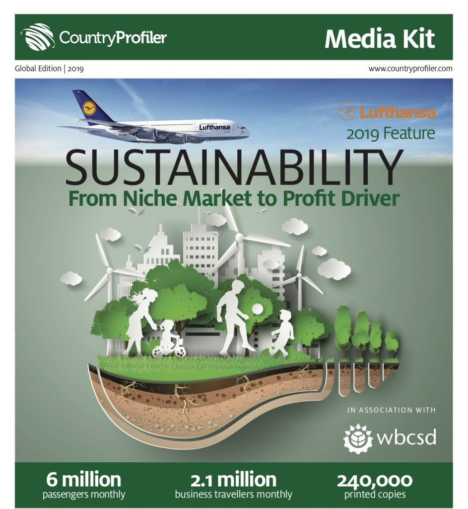 Sustainability, Lufthansa Magazin
