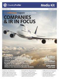 Compnies IR in Focus Lufthansa magazin