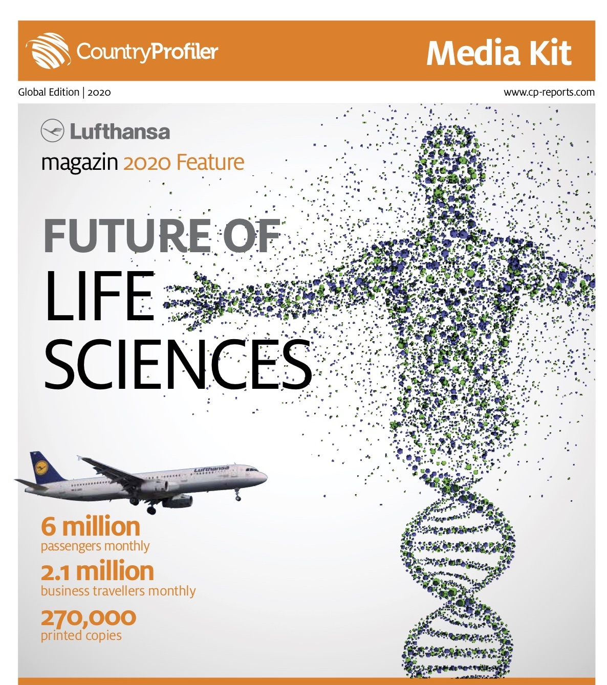 Future of Life Sciences, Lufthansa magazin