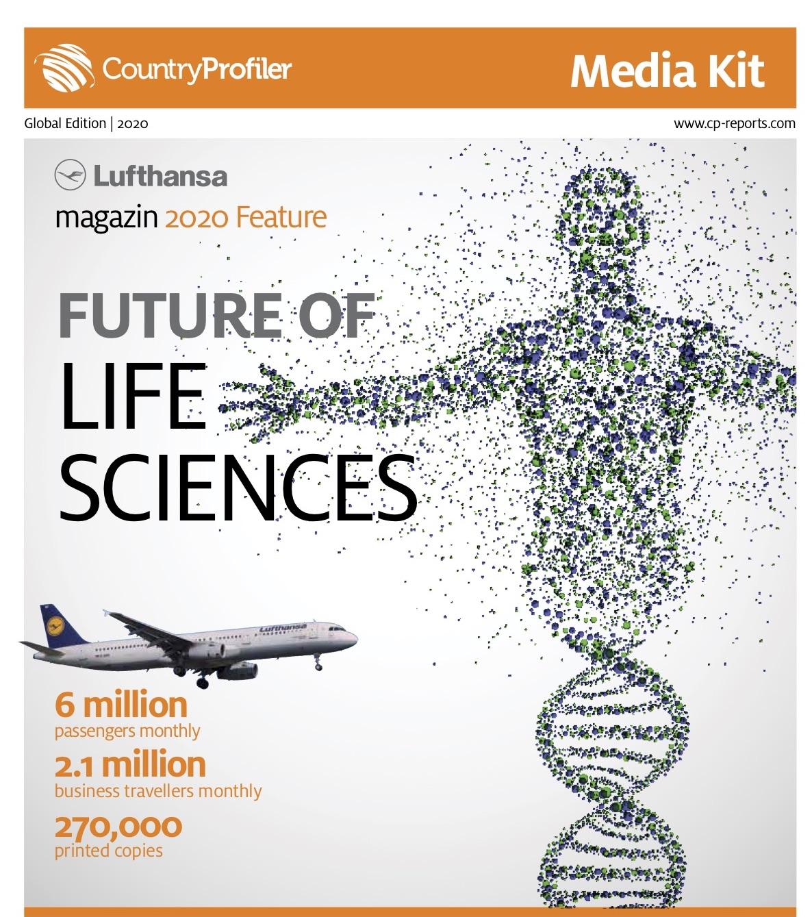 Future of Life Sciences, Lufthansa magazin