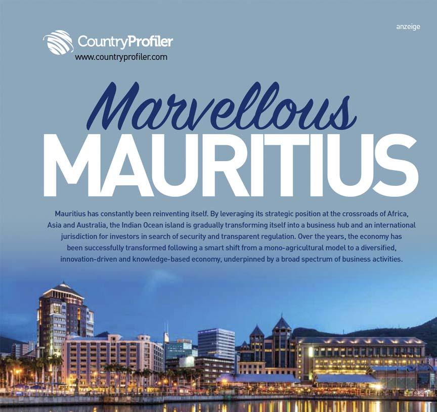 Marvellous Mauritius report, Lufthansa magazin