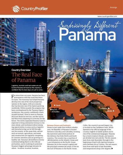 Panama, lufthansa magazin