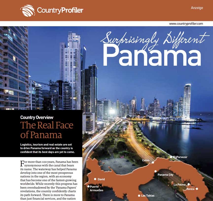 Surprisingly Different Panama Report, Lufthansa Magazin