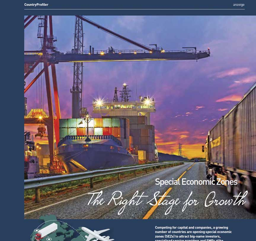 Special Economic Zones report, lufthansa magazin